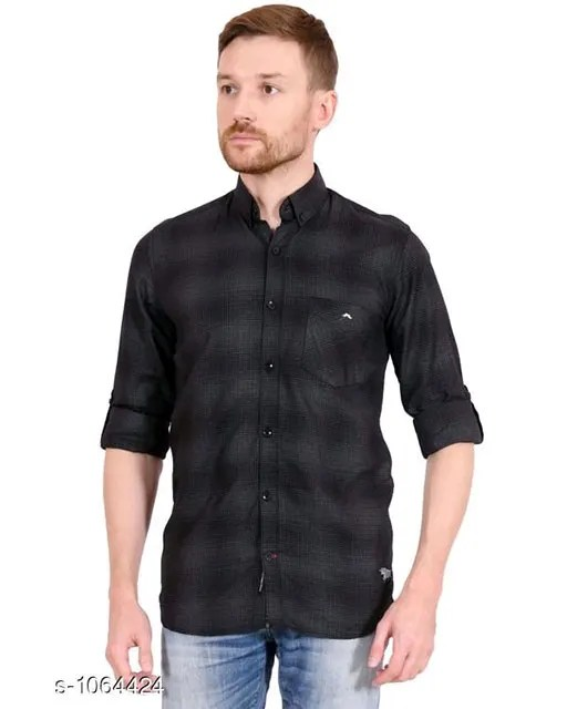 Men's Essential Partywear Cotton Shirts Vol 1