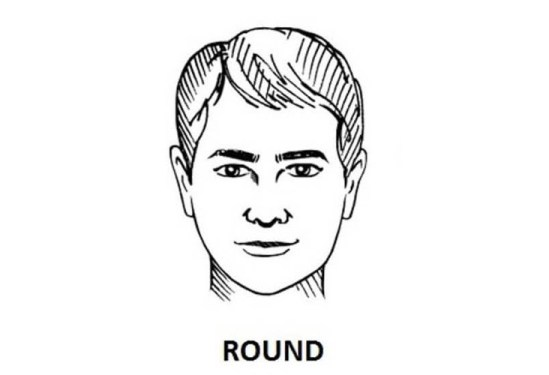 round shaped face