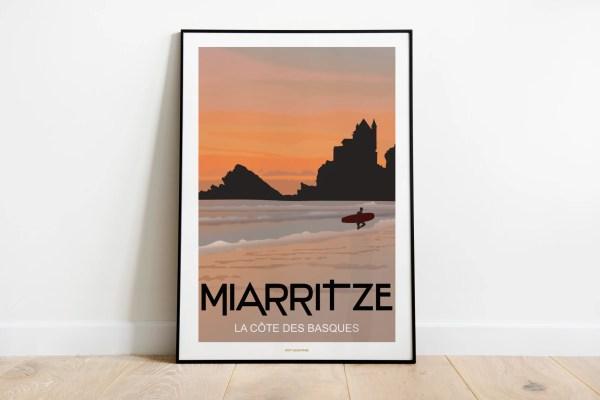 MIARRITZE Côte des Basques