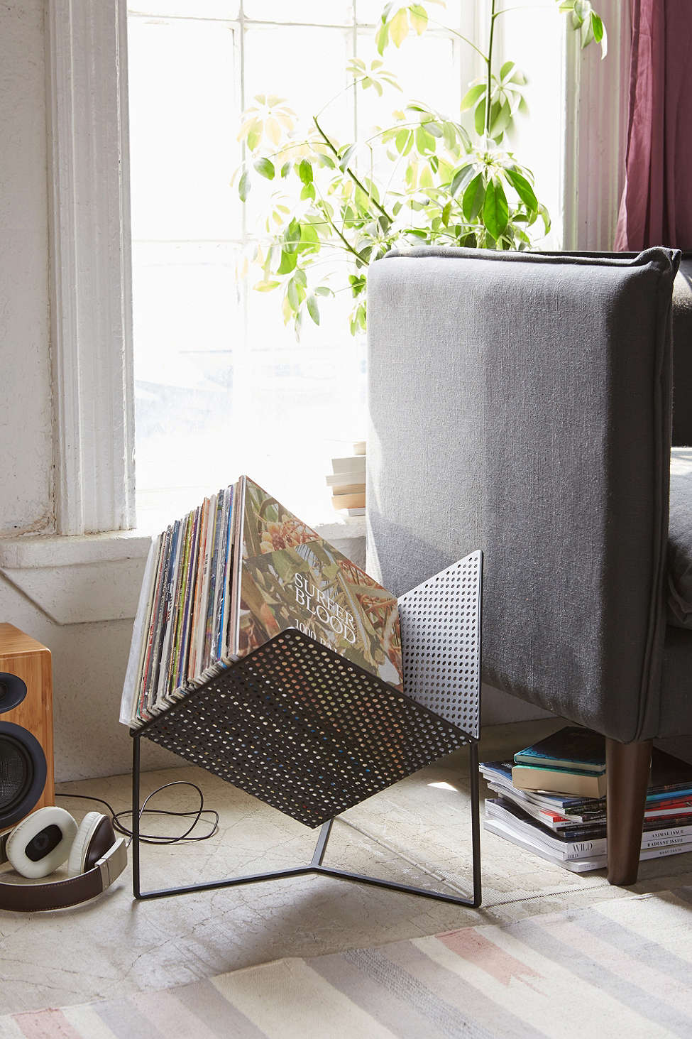 hanging chair urban outfitters posture cushion for very goods half cube vinyl rack