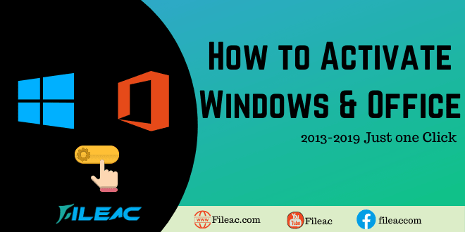 Window and Office activator