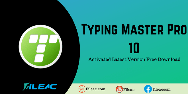 Typing Master Pro (Activated) Download free 2022 Crack