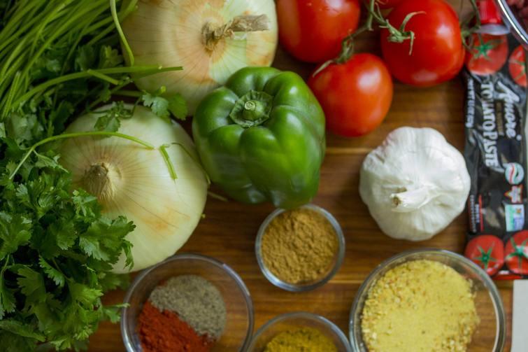 green veggies for hair growth