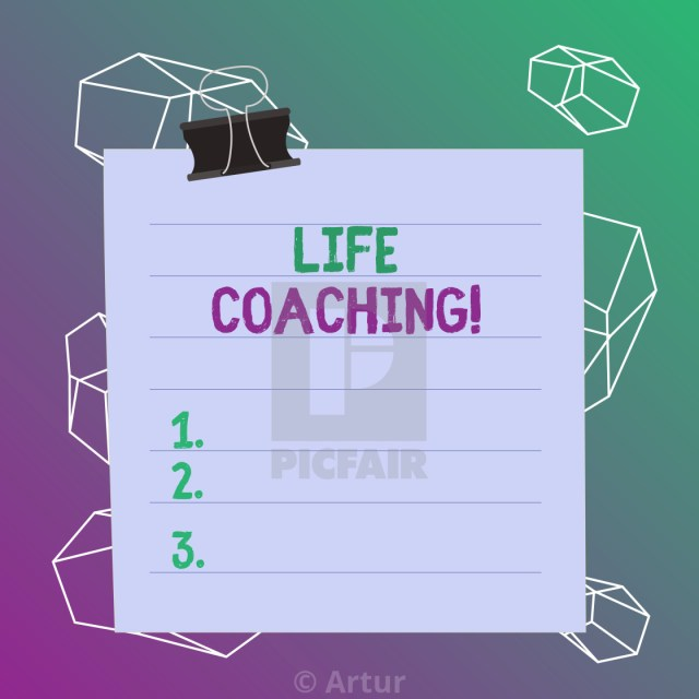 Word writing text Life Coaching. Business concept for ...