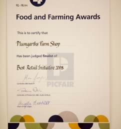 an award won by plumgarths farm shop in kendal cumbria uk farm [ 1120 x 1680 Pixel ]