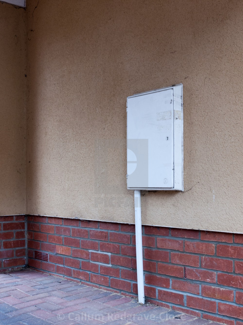 medium resolution of  a white closed and locked meter box outside in the garage electric bills uk
