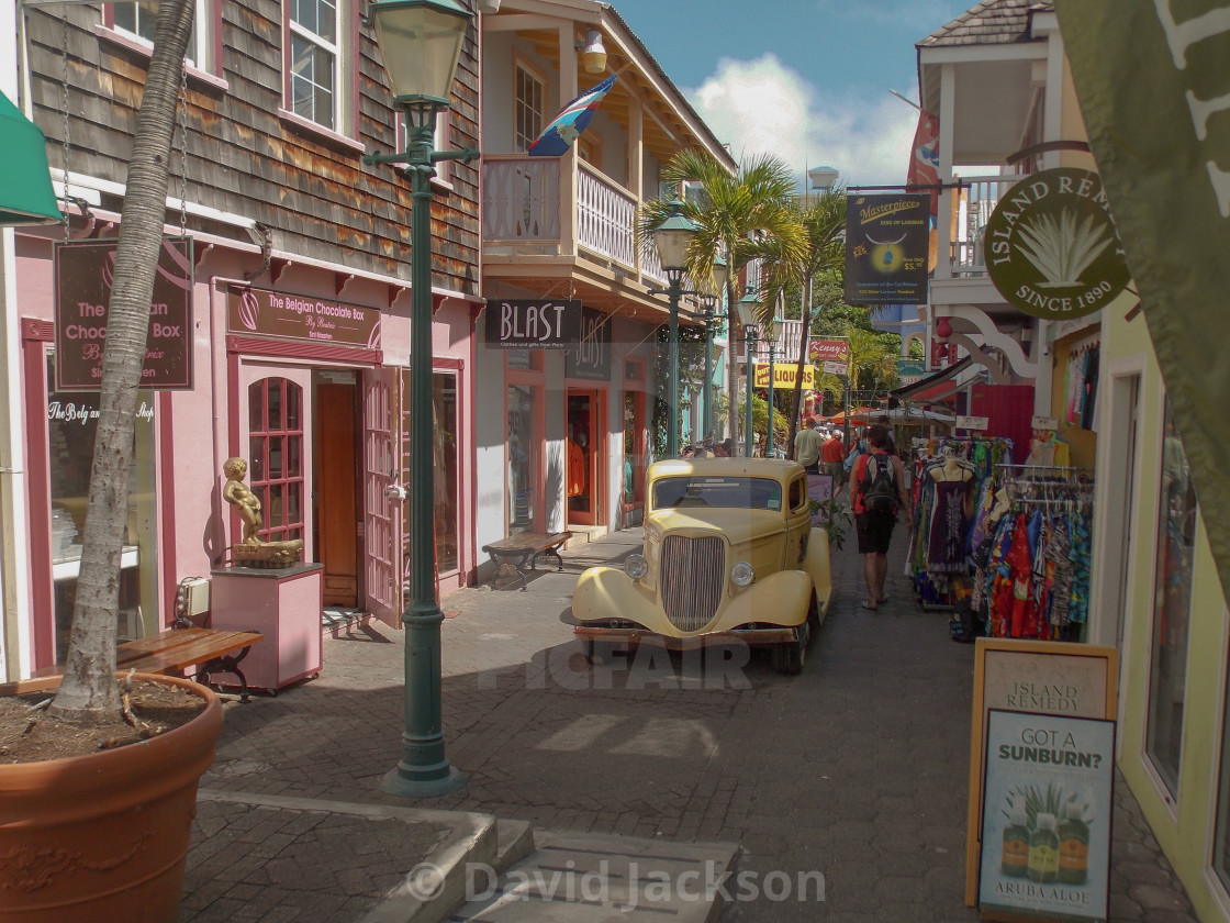 old street philipsburg sint