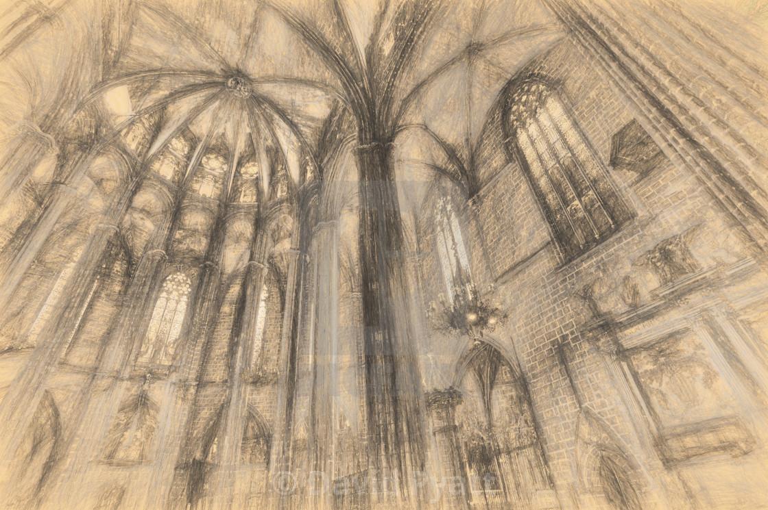barcelona cathedral da vinci