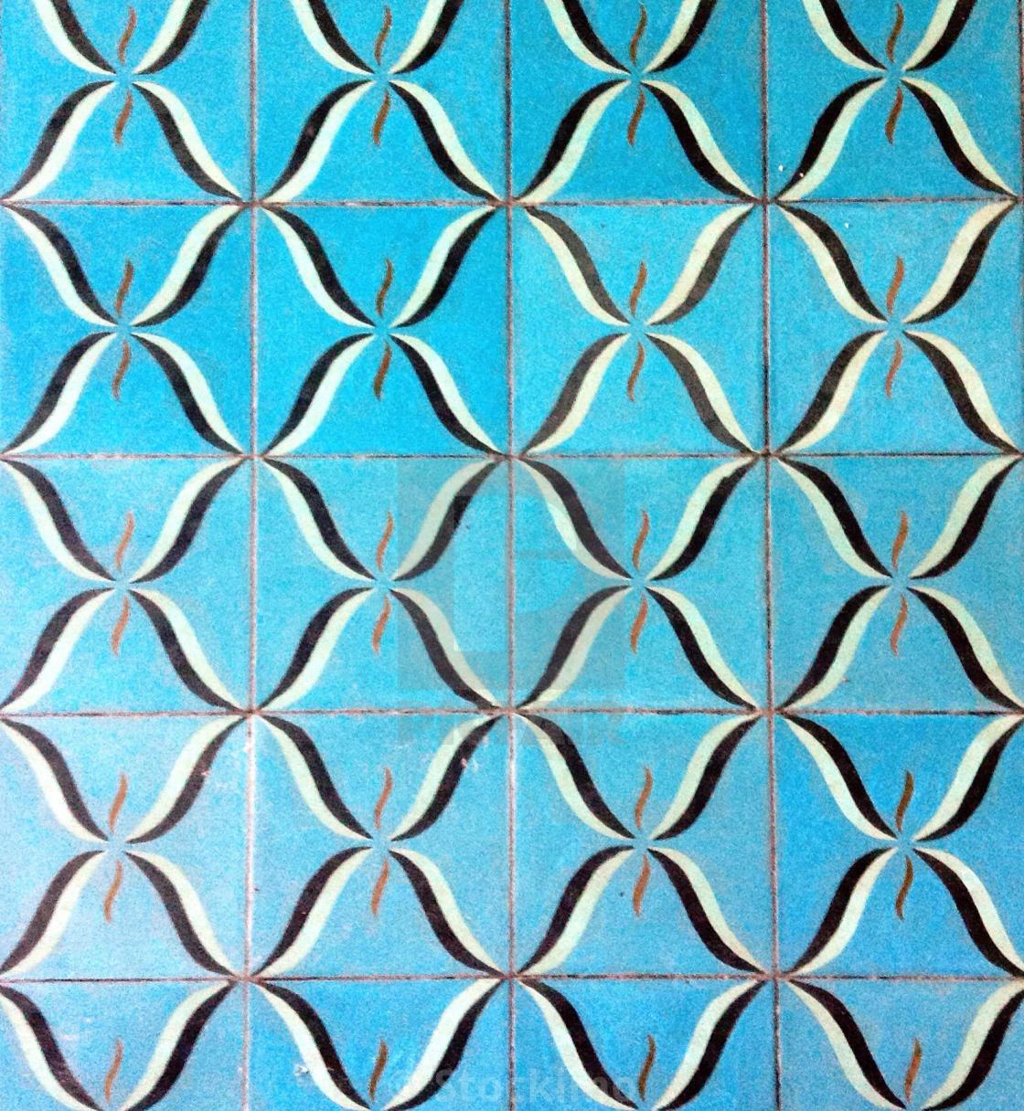 https www picfair com pics 04424891 tropical turquoise coloured ceramic floor tile