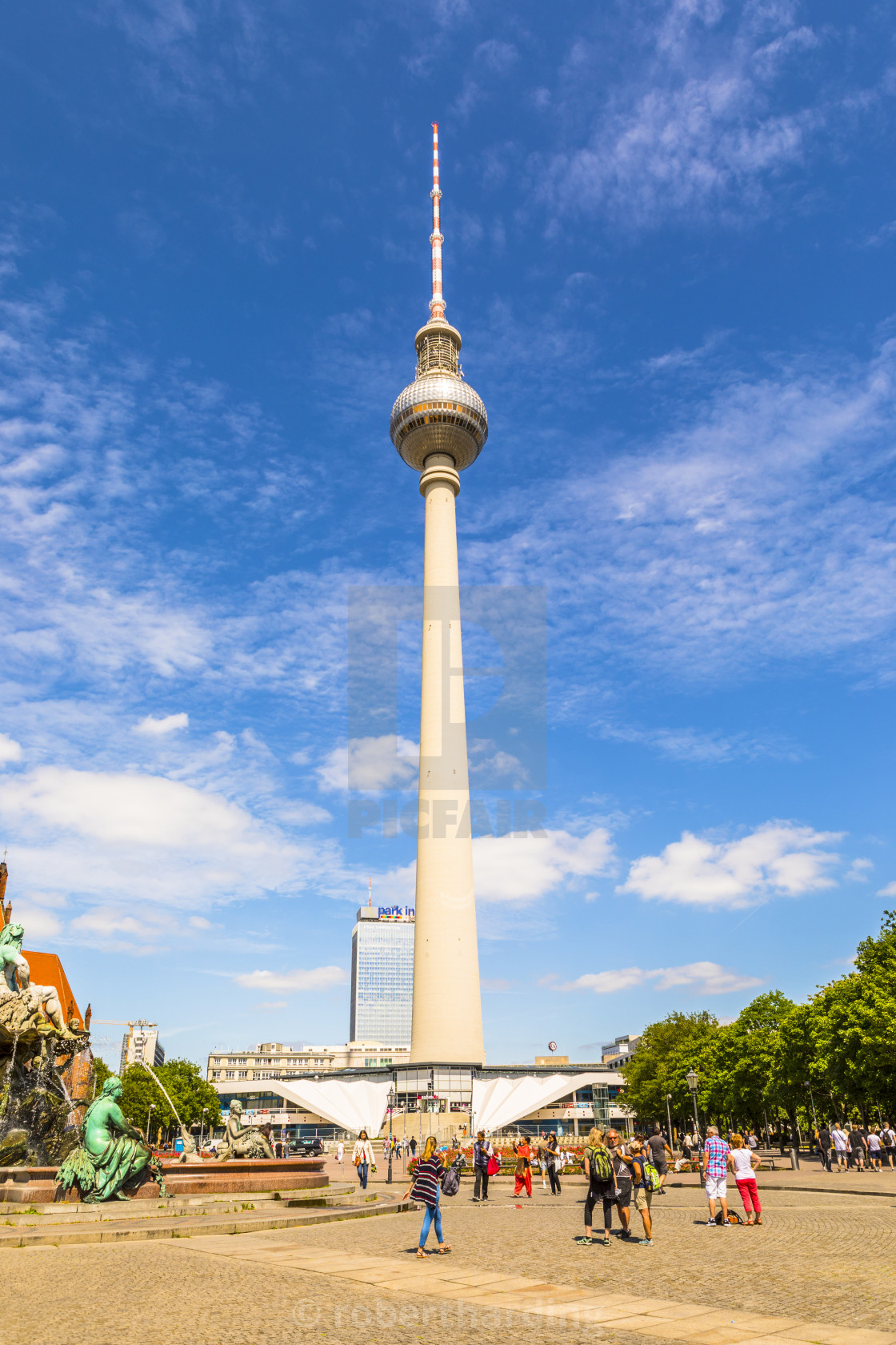 the berlin television tower