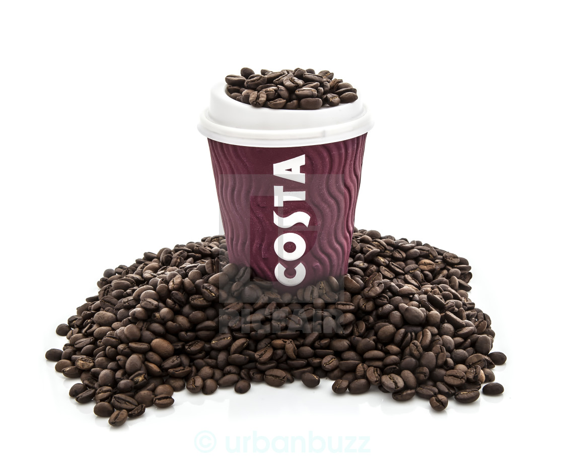 costa coffee cup with