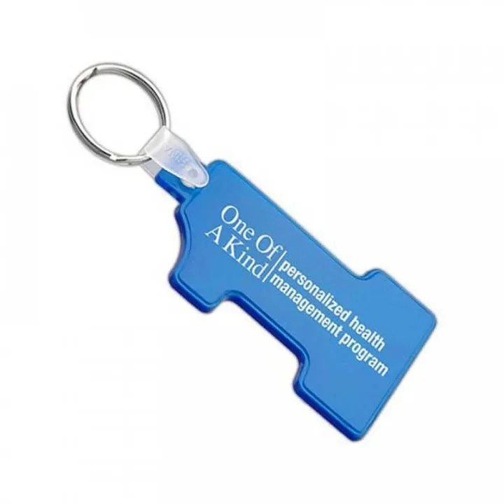 soft squeezable key tag