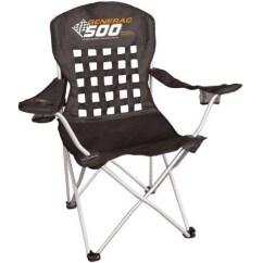 Folding Chair Embroidered Black Velvet Tufted Racing Lounger Customizable Stadium Custom Chairs