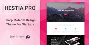 Hestia Pro wordpress theme free download