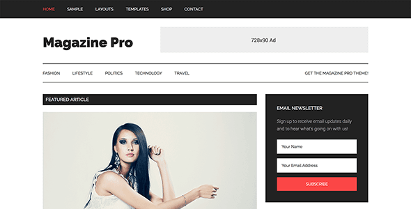 StudioPress Magazine Pro Genesis WordPress Theme Free Download