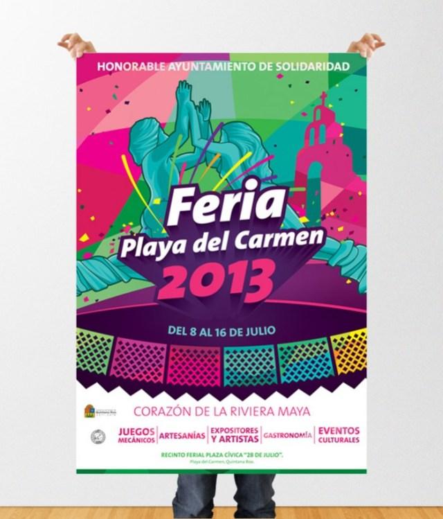 Feria Playa del Carmen 2013 - poster