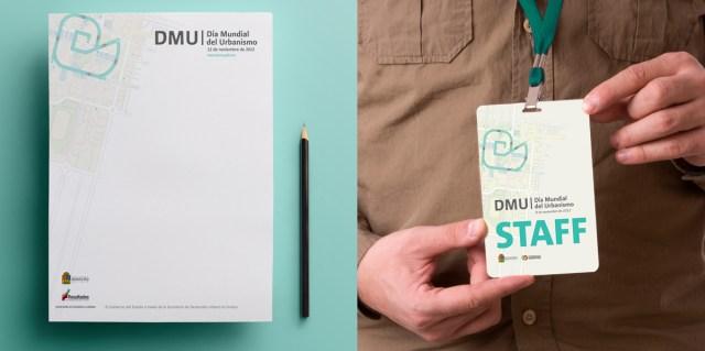 DMU - Hoja y gafete