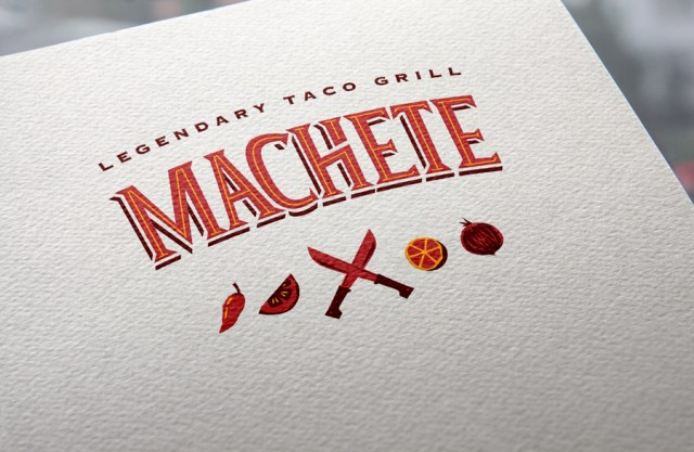 Machete - Logo