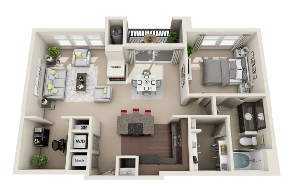 1, 2 & 3 Bedroom Apartments For Rent In Broomfield, CO