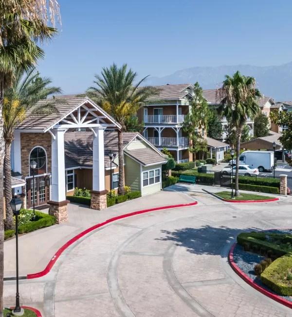 Rancho Cucamonga CA Senior Apartments Village On The Green