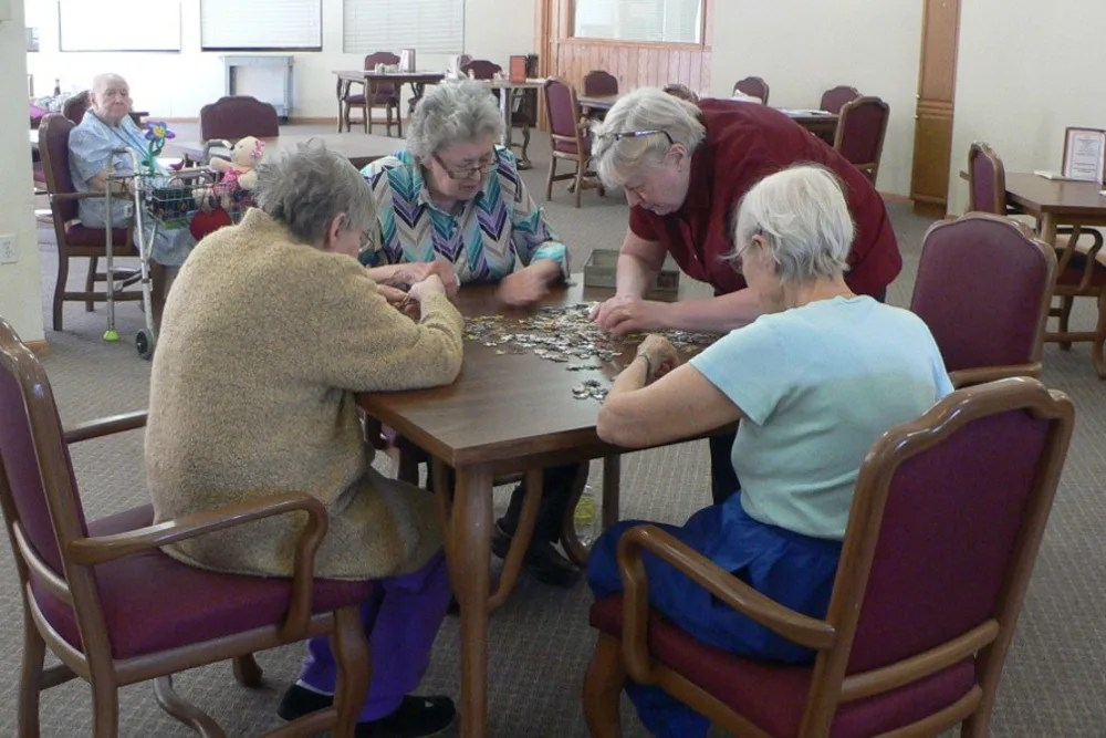 chair games for seniors boston rocking cushions fitchburg senior living avalon assisted community at