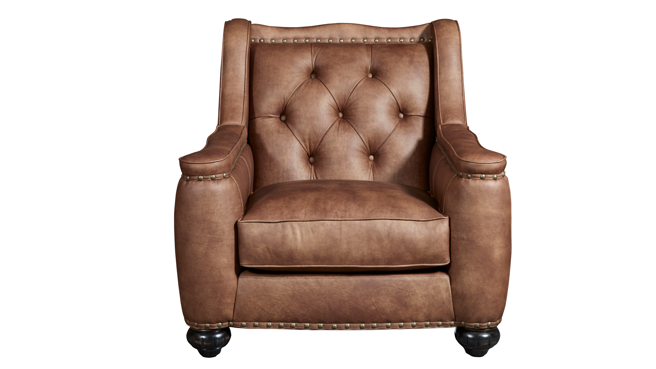 Rustic Leather Chairs Chelsea Rustic Charm Leather Chair