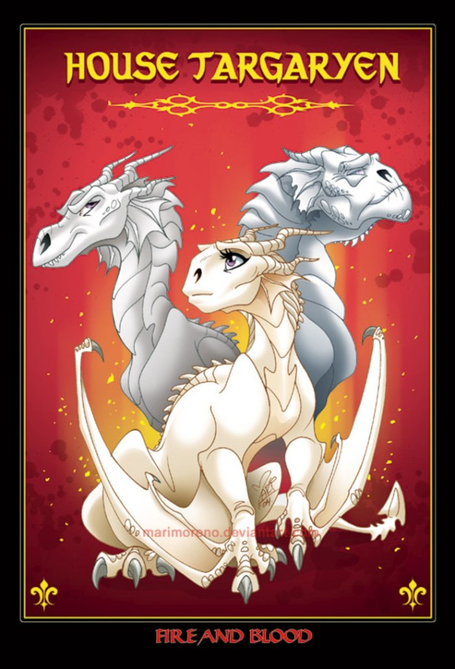 Game of Thrones Characters as Their House Animals - Sublime99