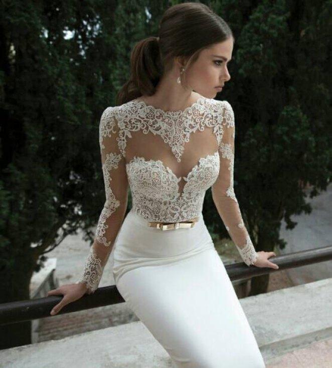 43 Creative Wedding Dress Designs - Girly Design blog