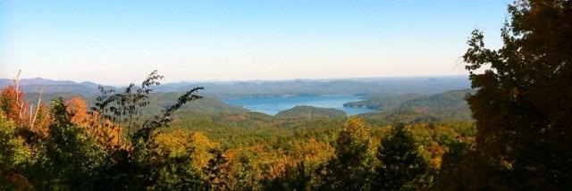View of Lake Jocasee