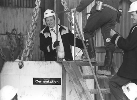 Margaret Thatcher, 1980 / Photo: Reuters