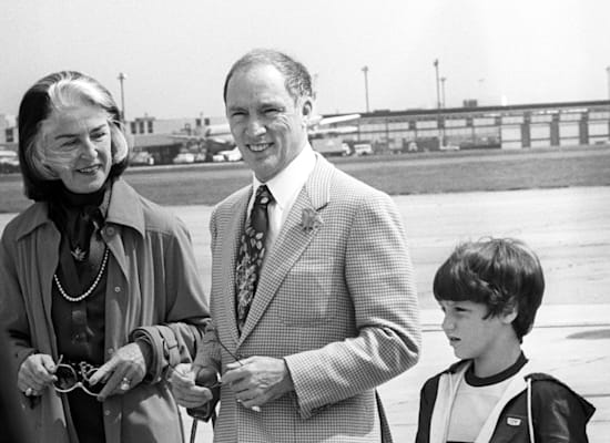 Pierre Trudeau, his son Justin and his wife Margaret, in 1980 / Photo: Reuters, PA Images