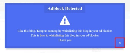 How to Make Anti-AdBlock Adsense on Blogger