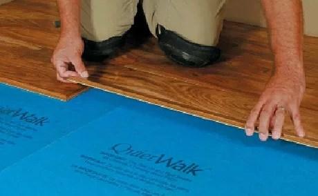 Hardwood Flooring Underlayment  NonToxic Effective