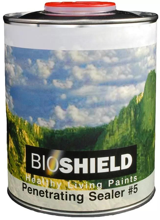Bioshield Penetrating Oil Sealer  NonToxic HighSolids