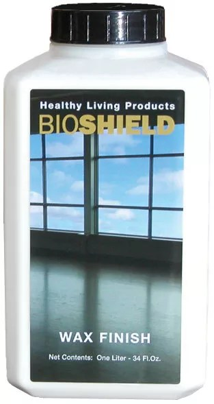 Bioshield Wax Finish  NonToxic Enhancement and