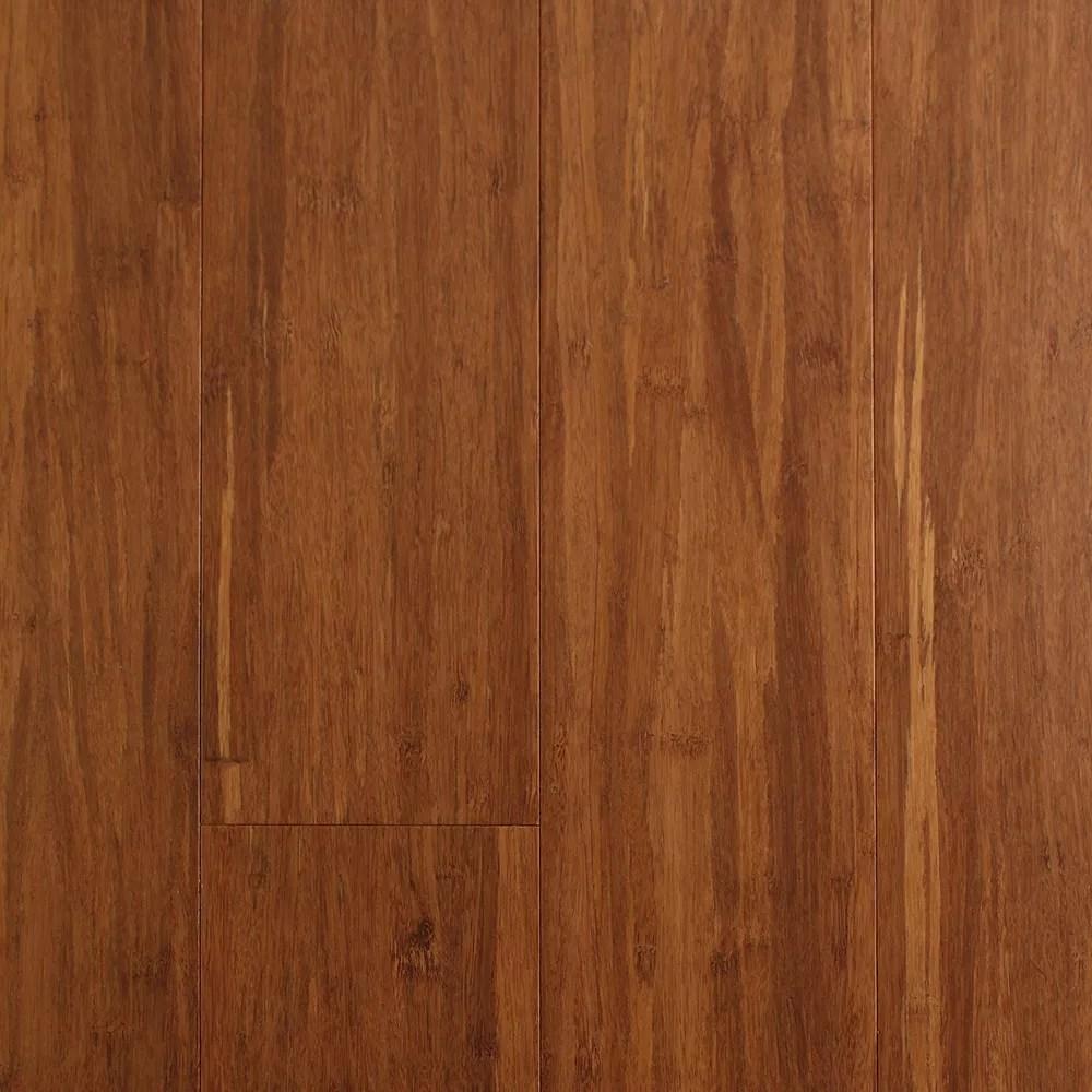 EcoFusion Solid Drop  Lock Strand Bamboo Flooring