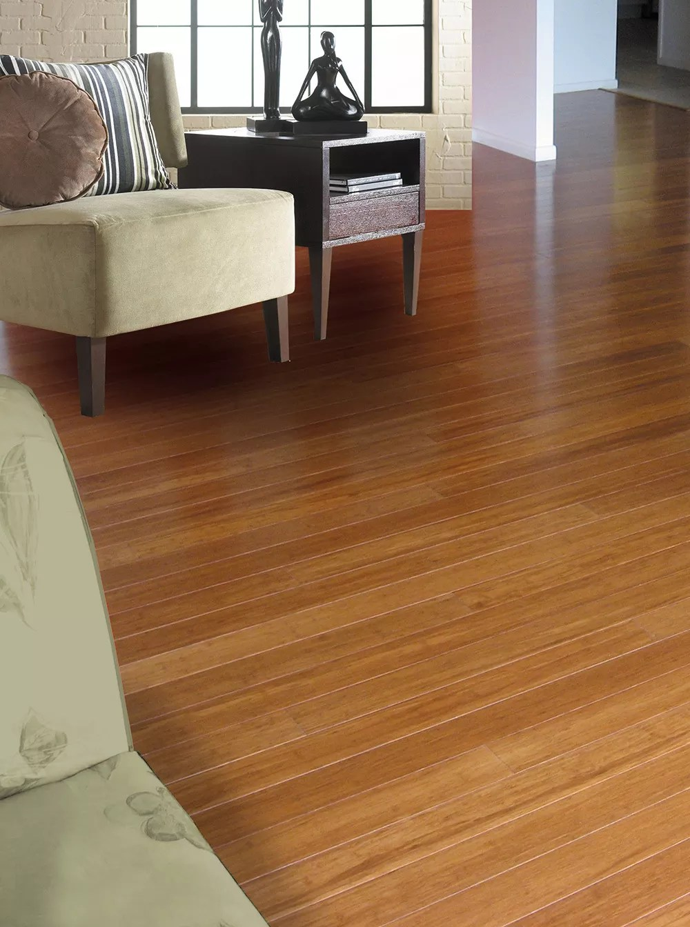 EcoFusion Solid Strand Woven Bamboo Flooring