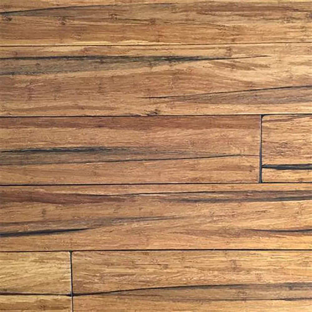EcoFusion Wide Plank Solid Bamboo Flooring Peppercorn