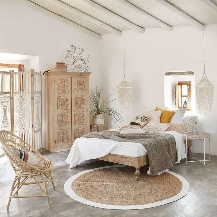 chambre_décoration_bohème