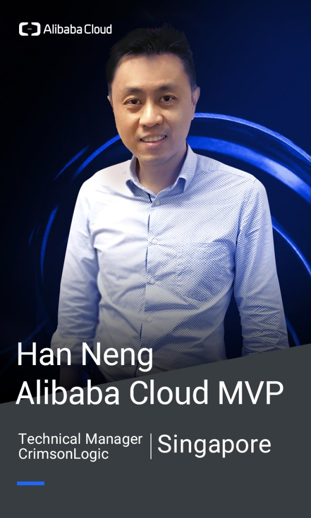 Han Neng Alibaba Cloud Global MVP