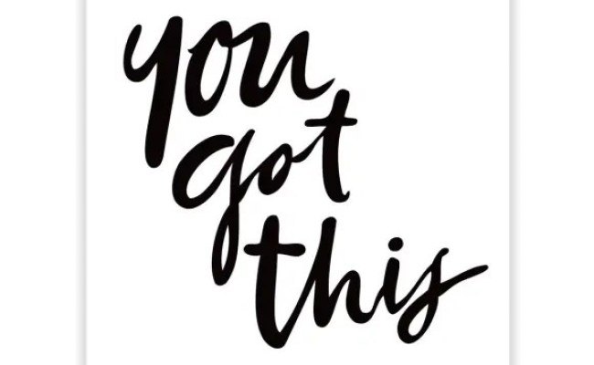 You Got This Wall Art Print Hardtofind