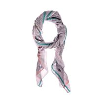 Aish vayu violet and green scarf   hardtofind.