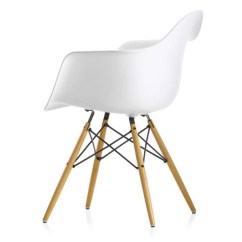 Eiffel Chair Wood Legs Parsons Dining Slipcovers Canopy Co White Plastic Arm With Is Amazon Curated