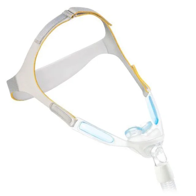 philips respironics nuance pro gel nasal pillow cpap mask with gel frame