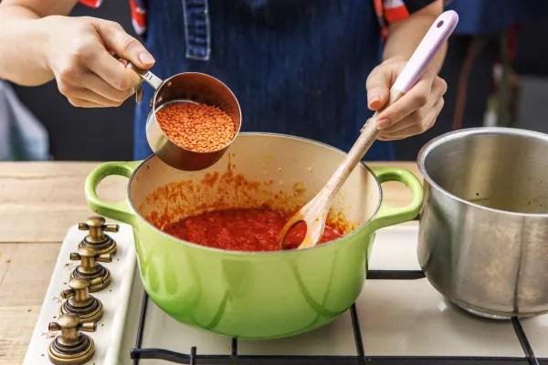 Simmer the Lentils
