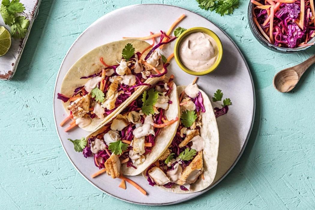 Tropical Fish Tacos-grilling recipes-HelloFresh