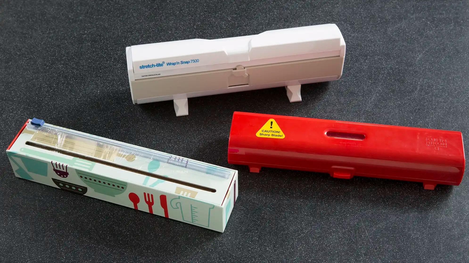 testing plastic wrap dispensers