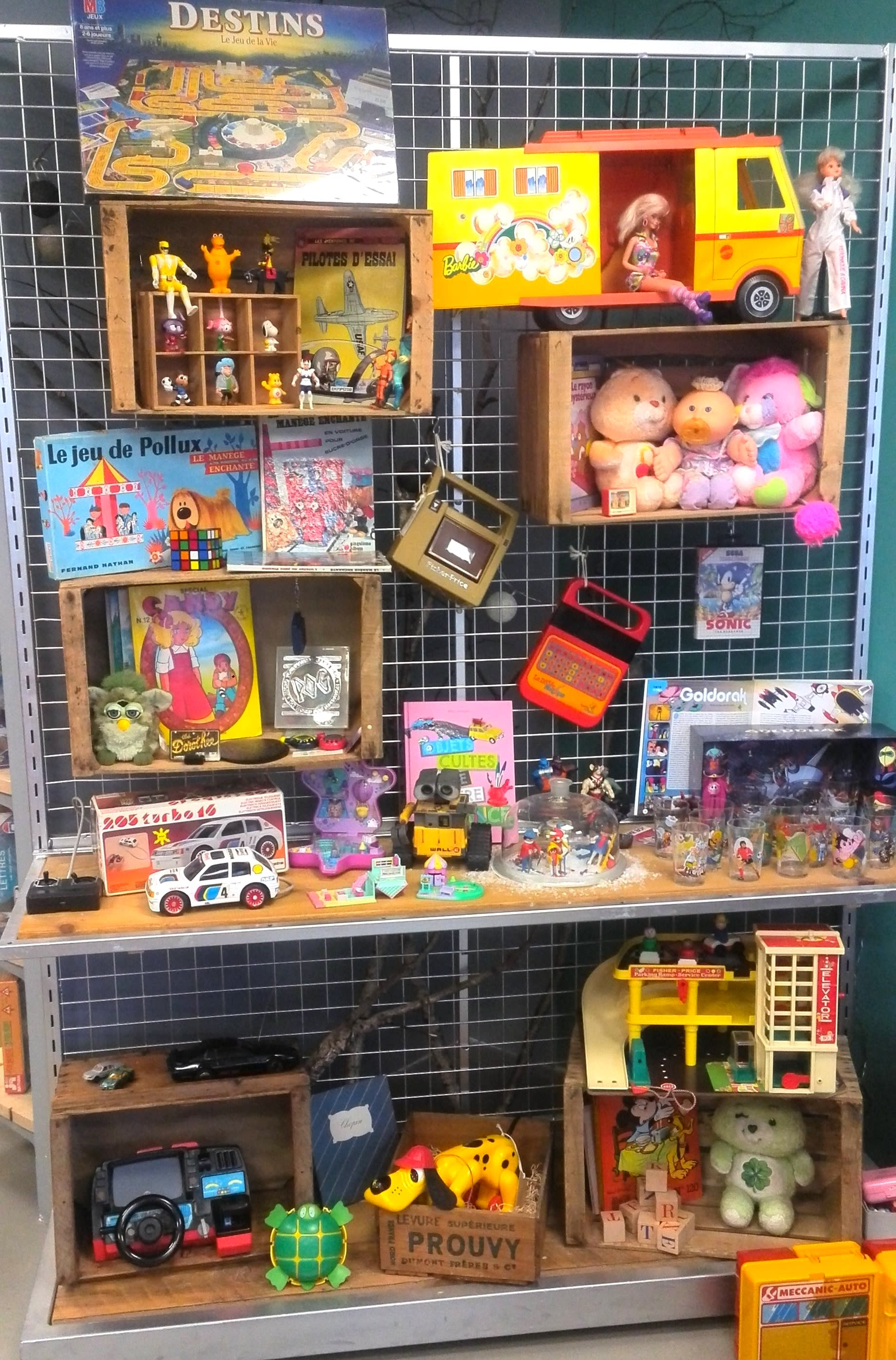 Accueil - Vente de jouets d'occasion revalorisés