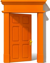 Orange Door & Photo By Front Porch Ideas And More. Is This ...