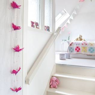 A 17th Century Historic Home in the English Countryside : Country style nursery/kids room by Heart Home magazine